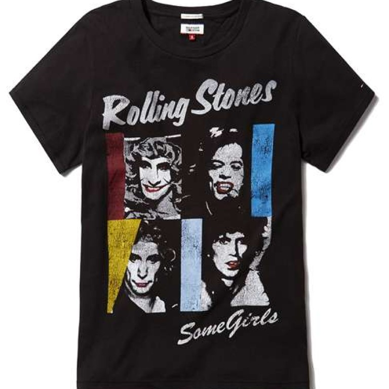 376138013167 Tommy Hilfiger releases a range of T-shirts and jackets for Rolling Stones  exhibition