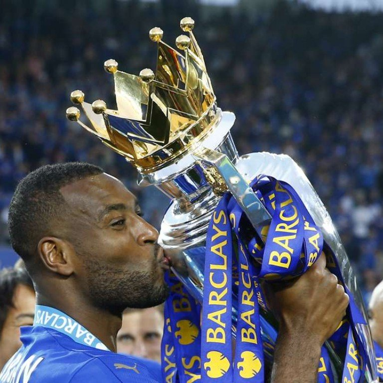 Leicester City party in style as Wes Morgan lifts English Premier League  trophy | South China Morning Post