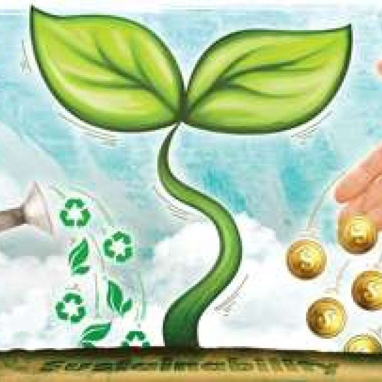 Finding a balance between economic and environmental sustainability