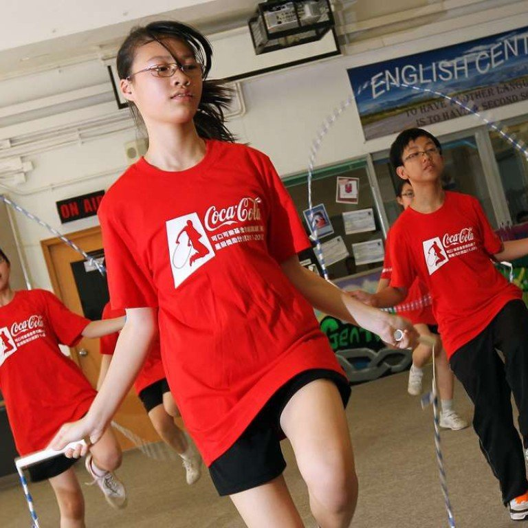 Hong Kong kids' lack of exercise could be hurting their