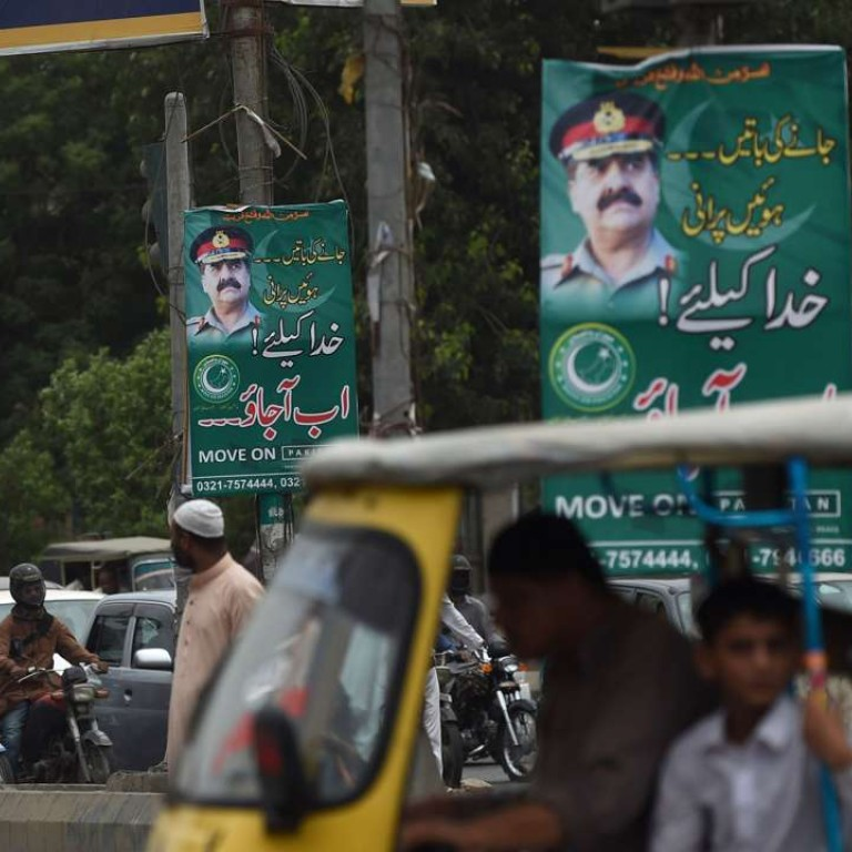 Posters appear in major Pakistan cities begging for military coup