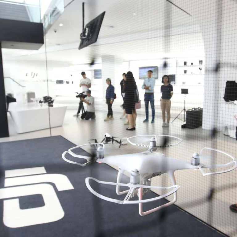 Drone maker DJI's new Hong Kong store offers customers the