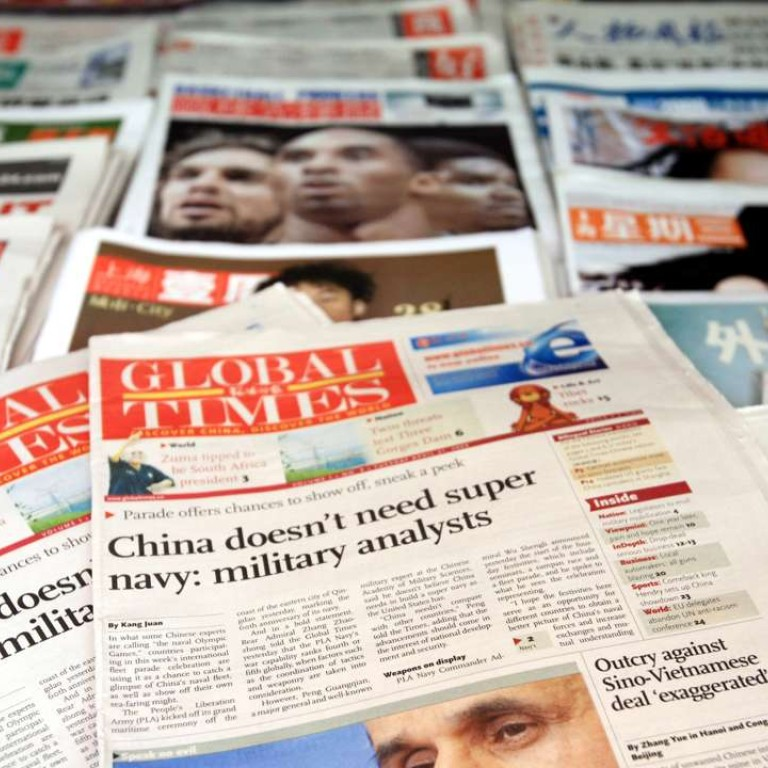 How China is using its Global Times attack dog to intimidate ...
