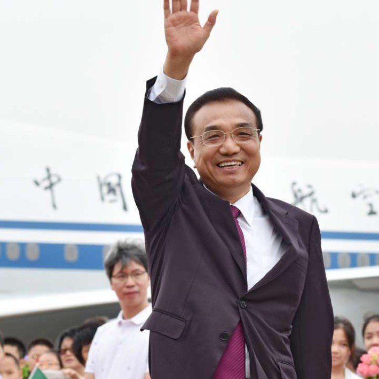 Chinese Premier Li Keqiang felt obligated during his Macau visit to offer some remedies for a collapse directly induced by his senior colleague's policies on corruption. Photo: SCMP Pictures
