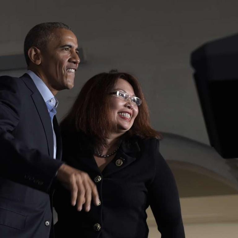 Republican senator mocks Thai heritage of rival Tammy Duckworth, an