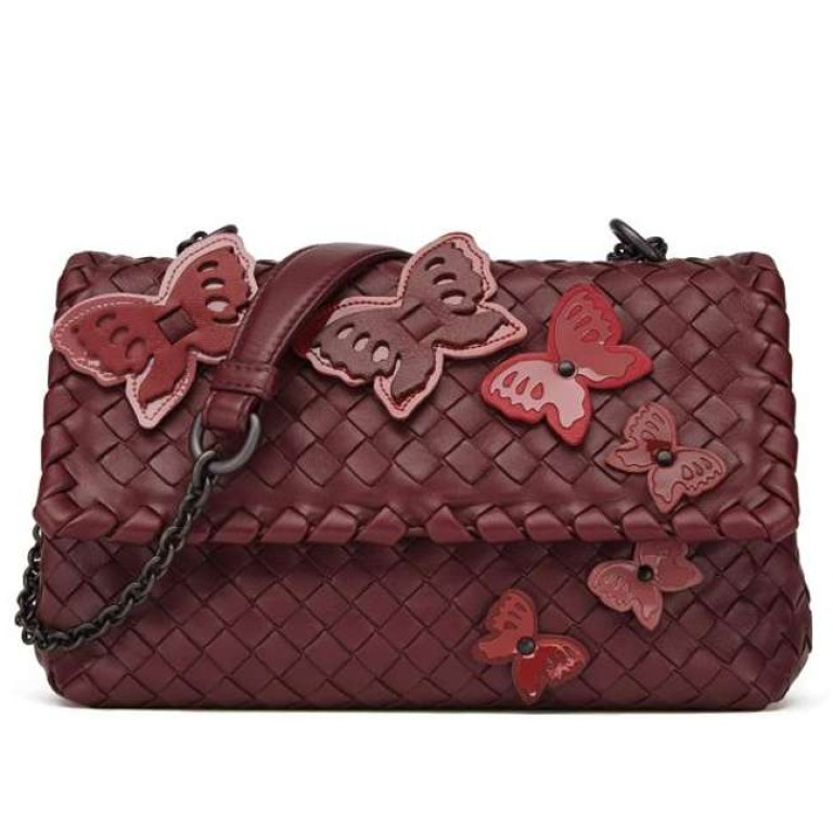 c81e4cdf8dc5 Bottega Veneta launches exclusive collection featuring butterflies in pink  hues