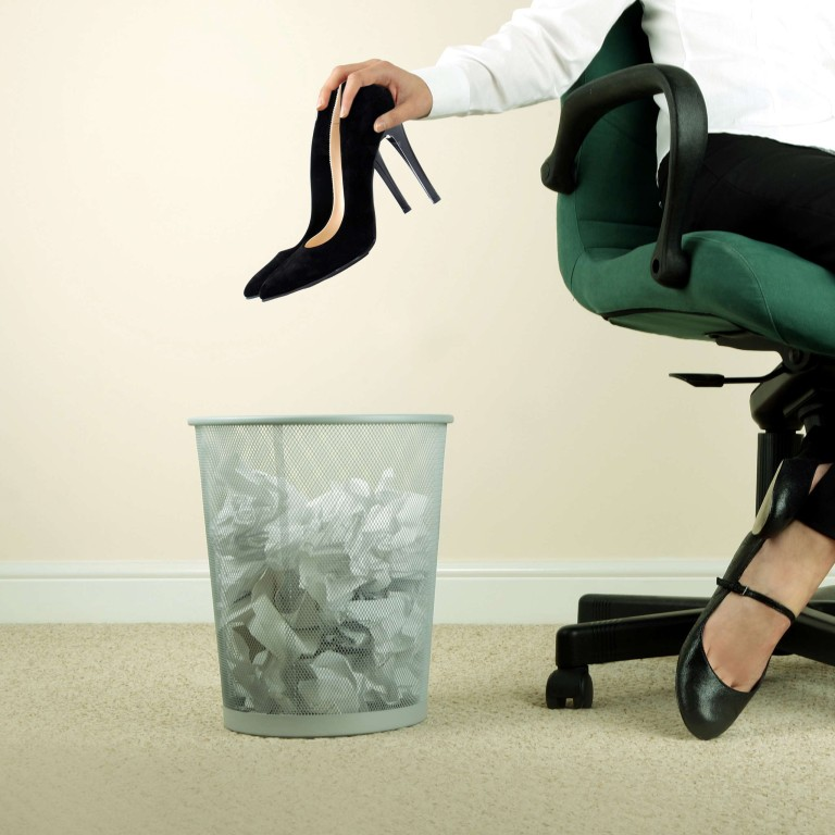 7a7f8267d0c4 Kick off the stilettos and stand tall without the heels  the fight for  dress code equality in workplace