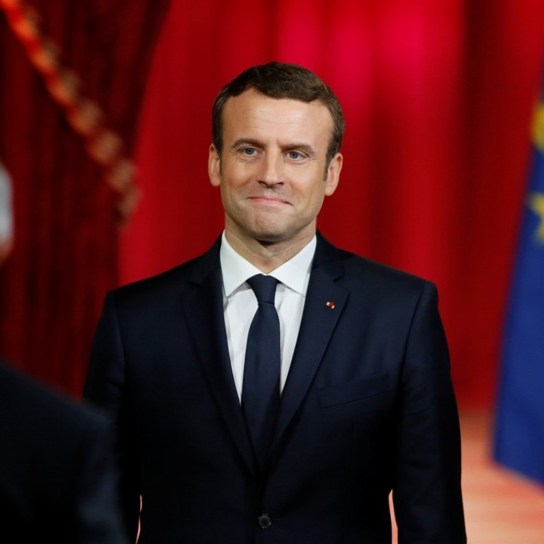 Emmanuel Macron Promises To Reform And Relaunch Eu In First Speech As President Of France South China Morning Post