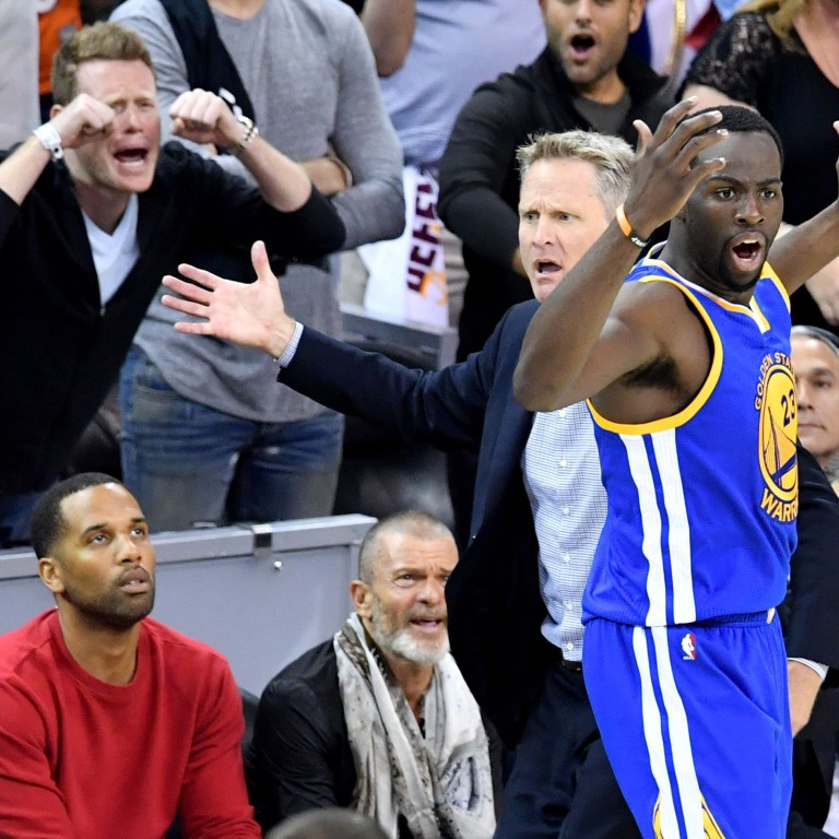 318ffe172 Draymond Green says Cleveland Cavaliers fans  don t seem to be the  sharpest  amid technical foul fiasco