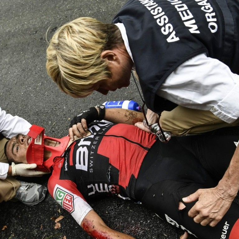 Day Of Carnage In Tour De France Culls 12 Riders But Chris