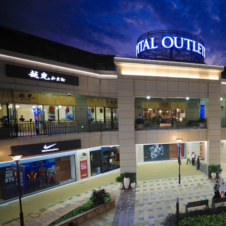 China has room for four times more outlet malls, says industry