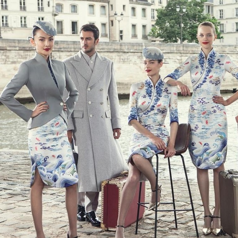 5daa4547e343 Fashion s high flyers  eight most stylish airline uniforms