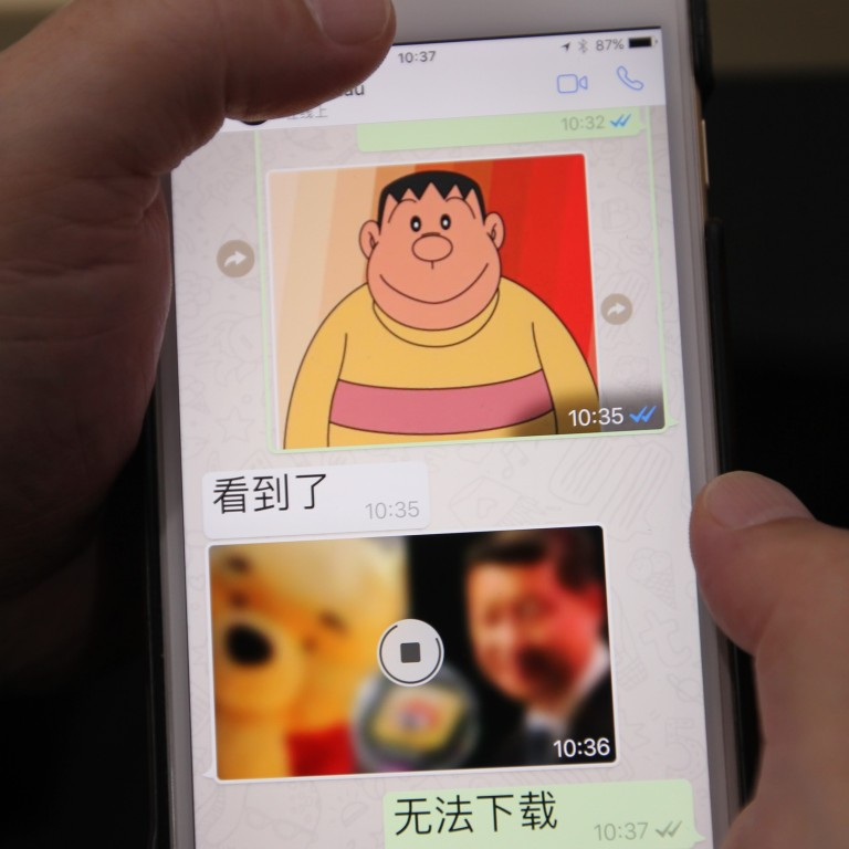 China's WhatsApp users find 'blocked' messaging functions