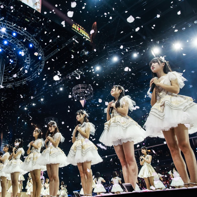 Election for Chinese idol group SNH48, spin-off of Japan's AKB48