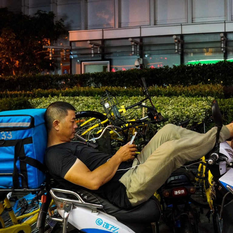 Shanghai food delivery couriers warned to obey traffic laws