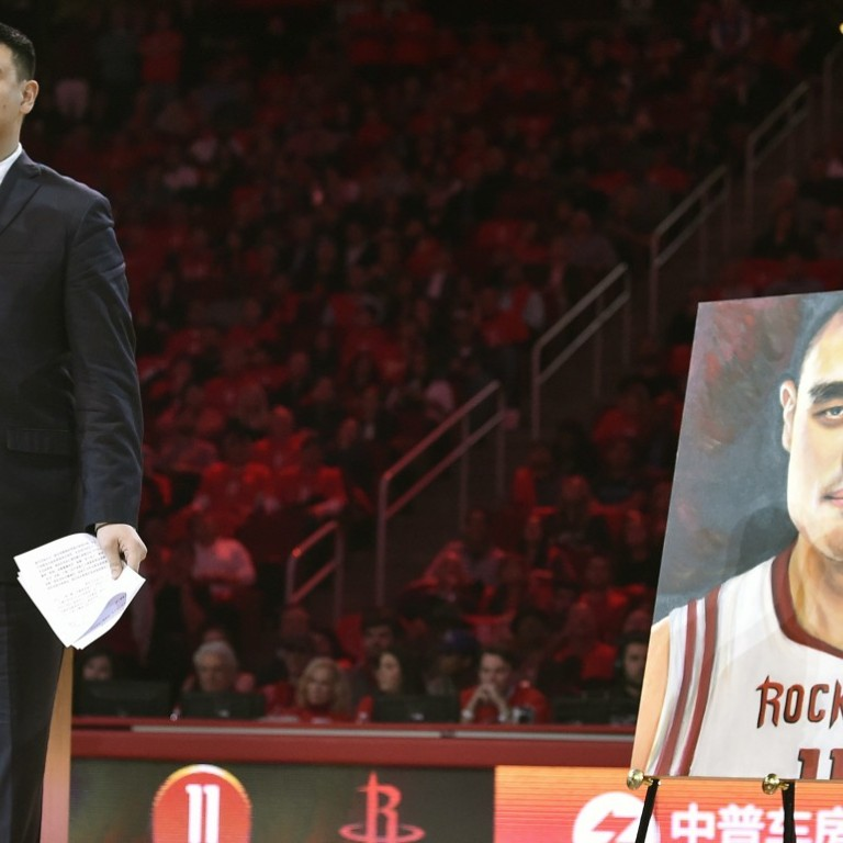 2e89bb3a8a7 Owner who made Yao Ming a star at Houston Rockets agrees record franchise  sale as NBA pays tribute
