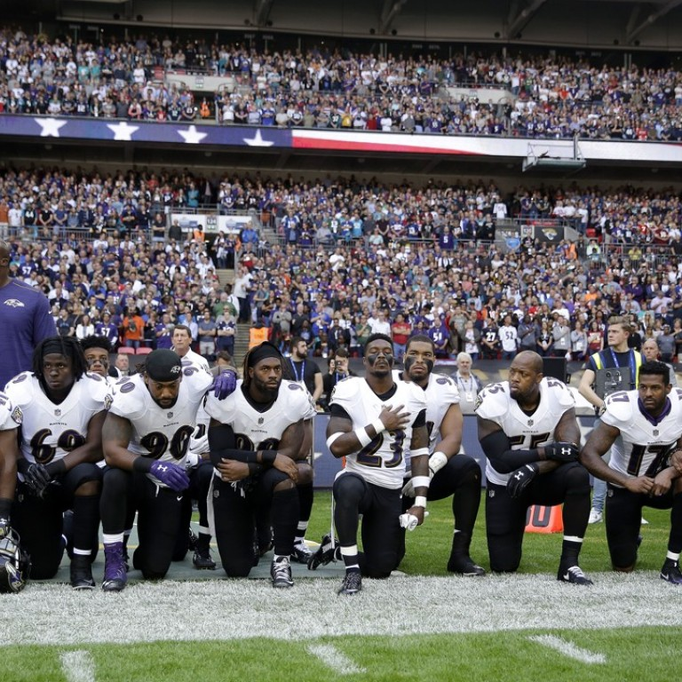 Respect NFL Until They Stand For The Flag boycott NFL National Anthem