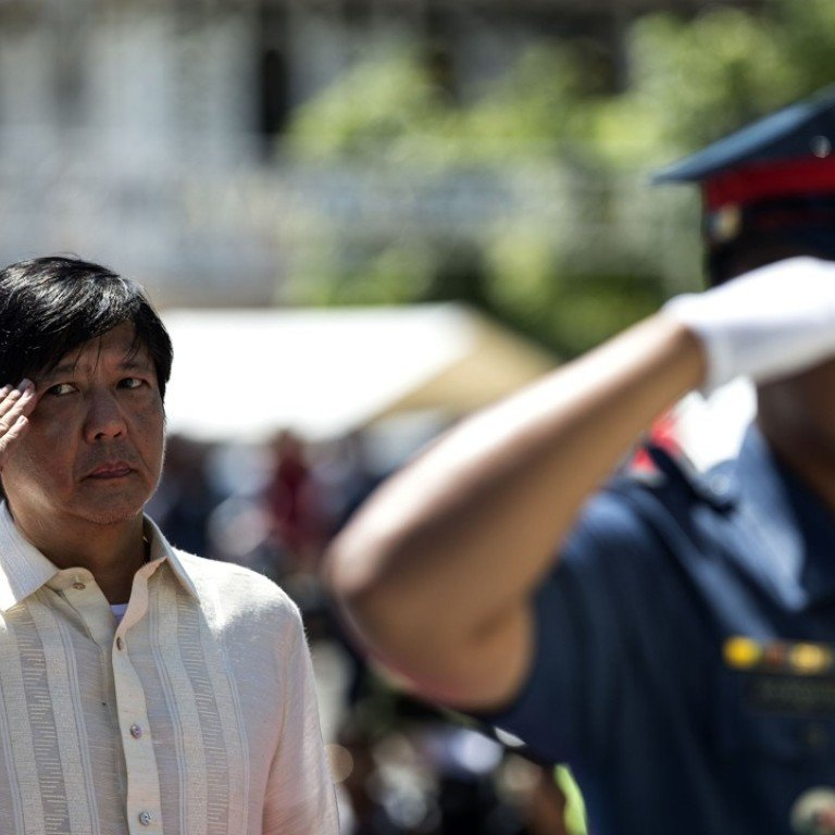 Marcos son 'Bongbong' confident of being declared Duterte's