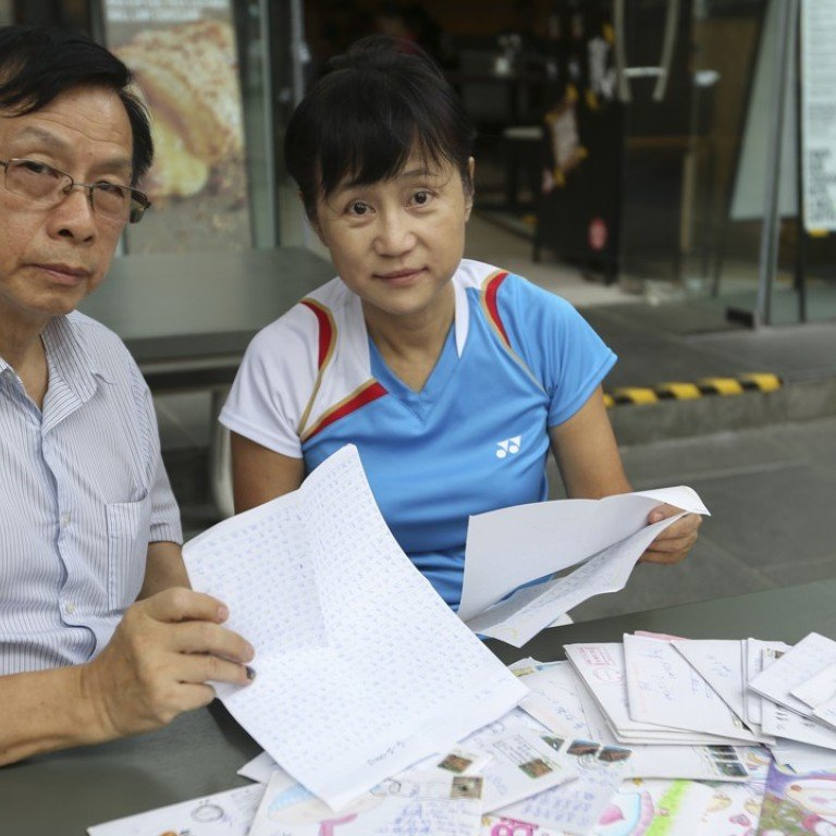 How Hong Kong's prisoners are given hope by selfless pen pals and a