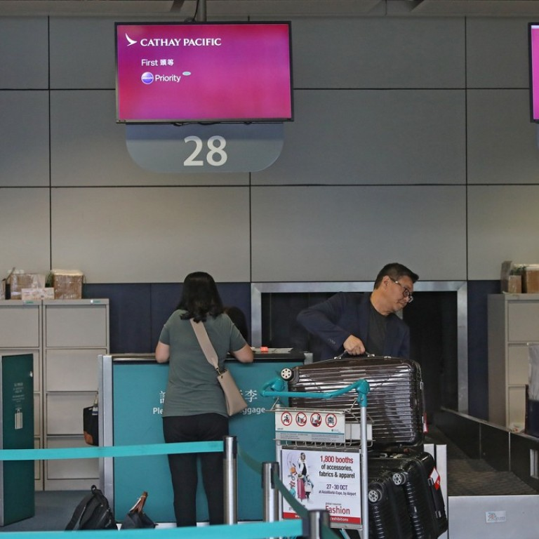 Cathay Pacific the only airline for now to ban downtown check-in for