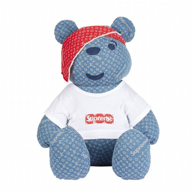 Supreme X Louis Vuitton Pudsey Bear Sells For Over US$100,000