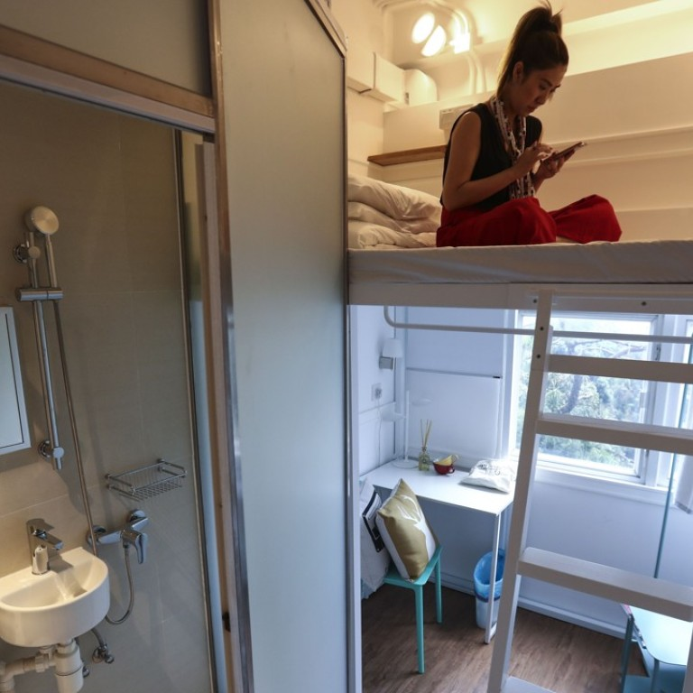 Hong Kong budget hotels move into co-living space, as ...