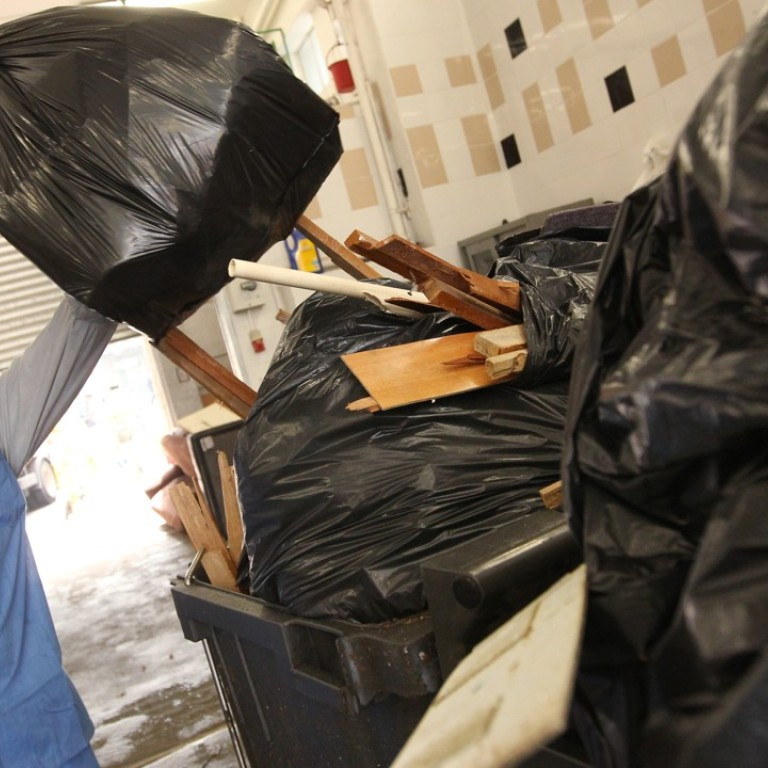 Rubbish sacks which double up as shopping bags to go on sale