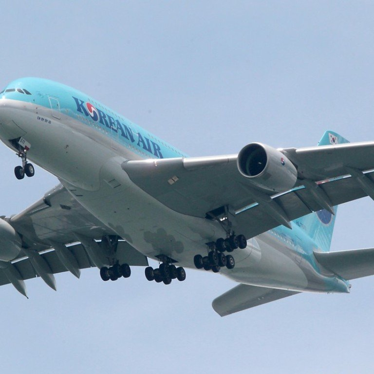 The deal with Korean Air comes less than six months after the government halved the standard tax rates for lessors to 8.25 per cent. Photo: K. Y. Cheng
