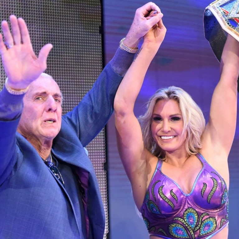 Ric Flair And The Power Of Prayer Wwe Star Charlotte Opens