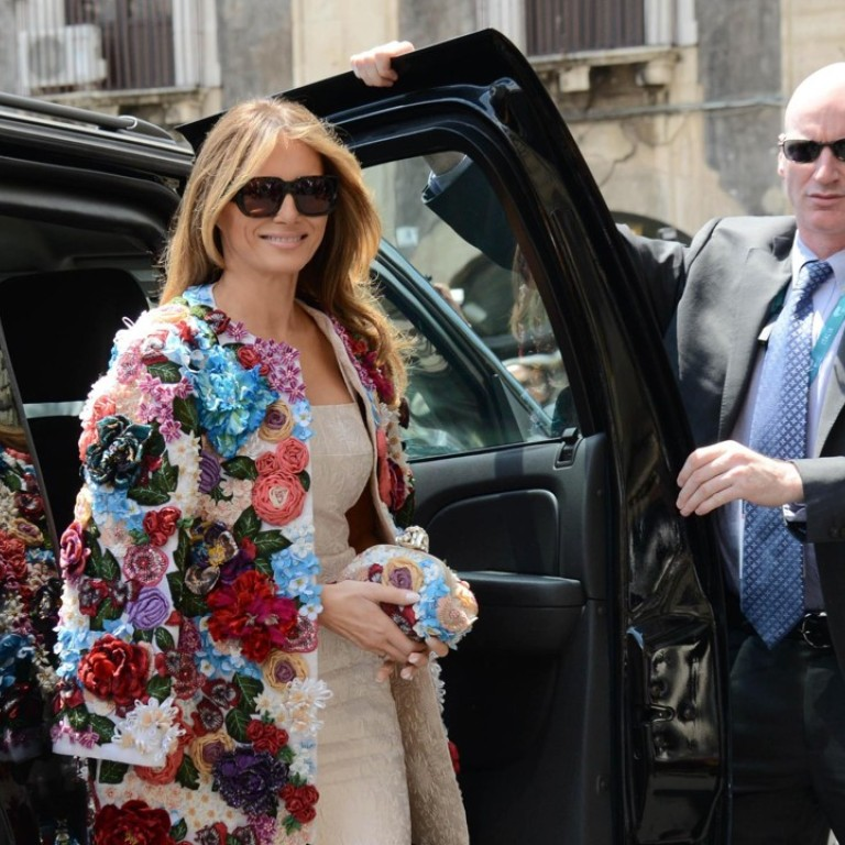 Why Melania Trump S Fashion Outlook Is Style First Not America First Despite Donald S Rallying Cry South China Morning Post