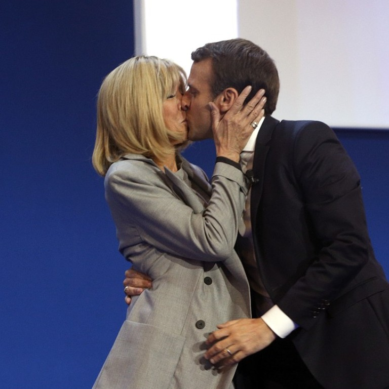 Inspired By Brigitte New Biography Says France S President Emmanuel Macron Wrote Smutty Romance Novel As A Teen South China Morning Post