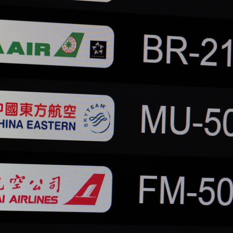 China Eastern forced to halt 106 flights amid Beijing-Taipei routes ...