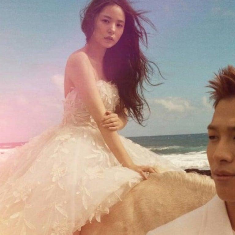 Big Bang S Taeyang Marries Actress Min Hyo Rin In K Pop Wedding