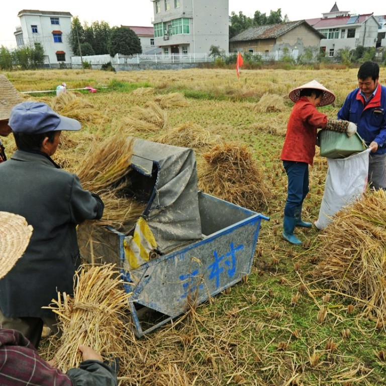 China Vows To Modernise Massive Farm Sector Amid Growing