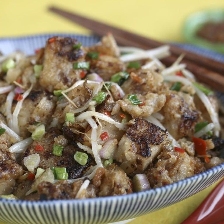Chinese New Year recipes: traditional radish cake cooks up ...