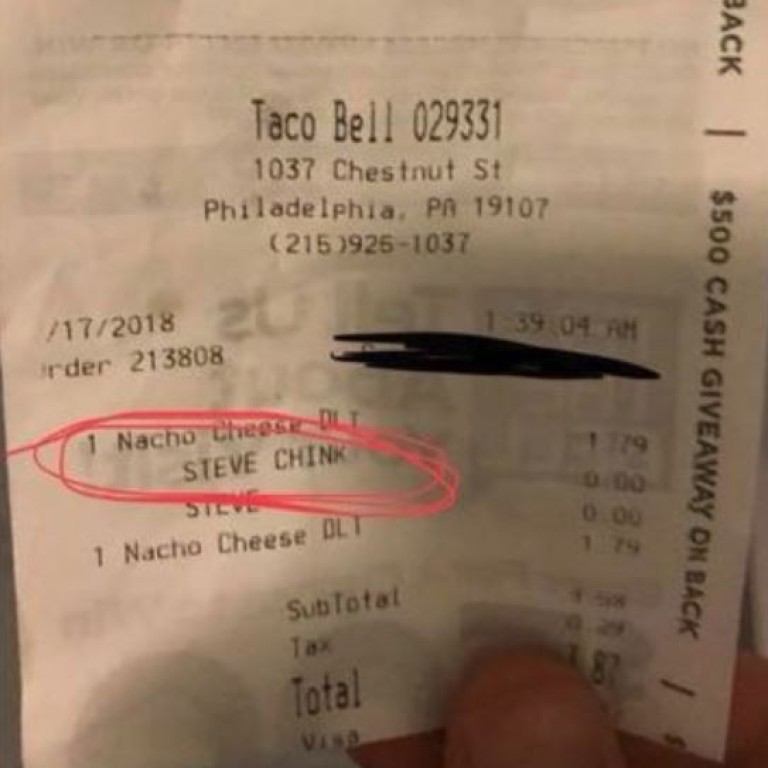 Taco Bell Cashier Fired After Putting Asian Racial Slur On