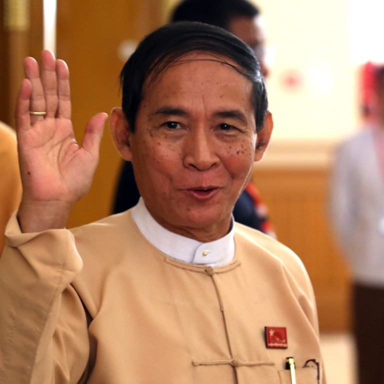 Myanmar parliament elects one of Aung San Suu Kyi's most loyal ...