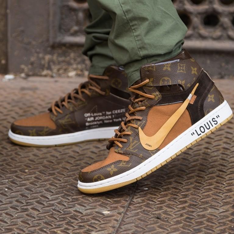 5a6c14a1bd0b Virgil Abloh s Louis Vuitton appointment inspired this Nike Air Jordan 1