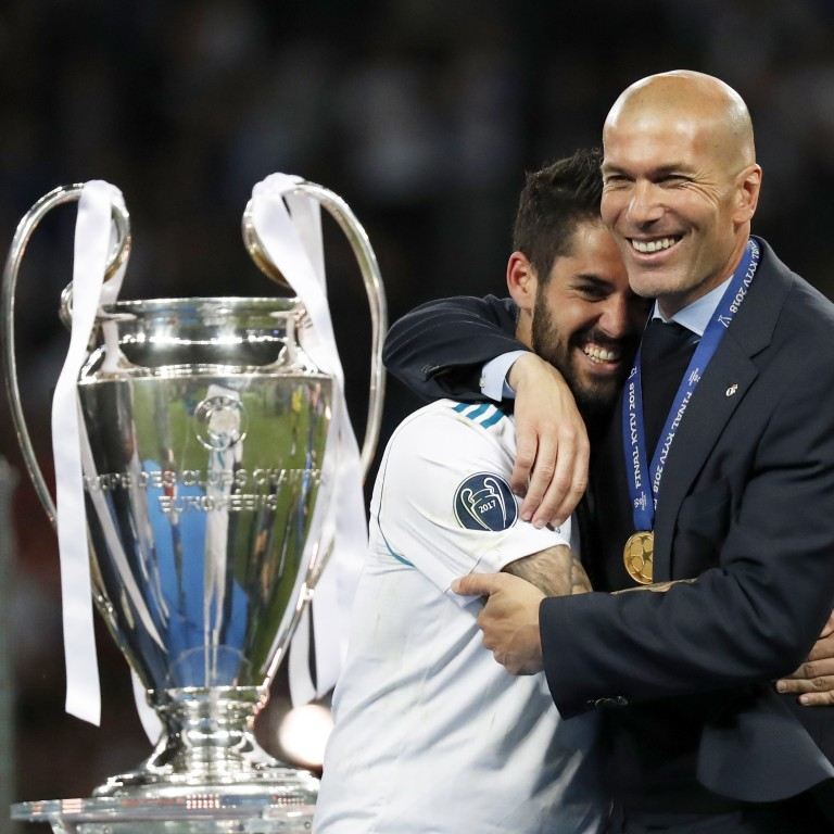 79fd96a0a Zinedine Zidane joins the pantheon of managing greats after another Real  Madrid Champions League win.