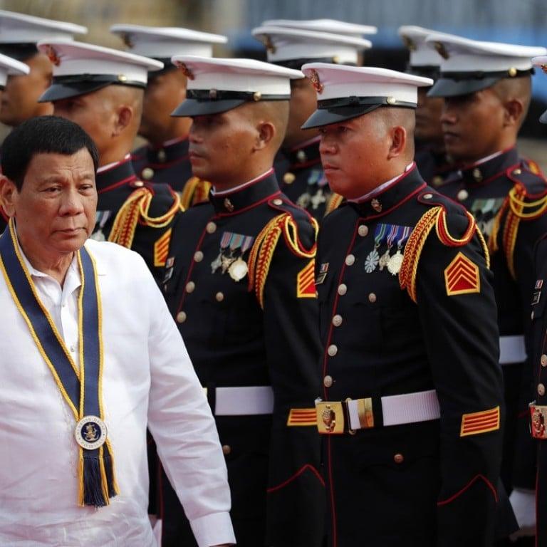 Philippine President Rodrigo Duterte will go to war with