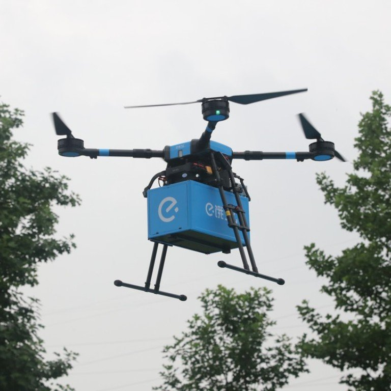 Your Chinese takeaway is ready to be delivered by drone