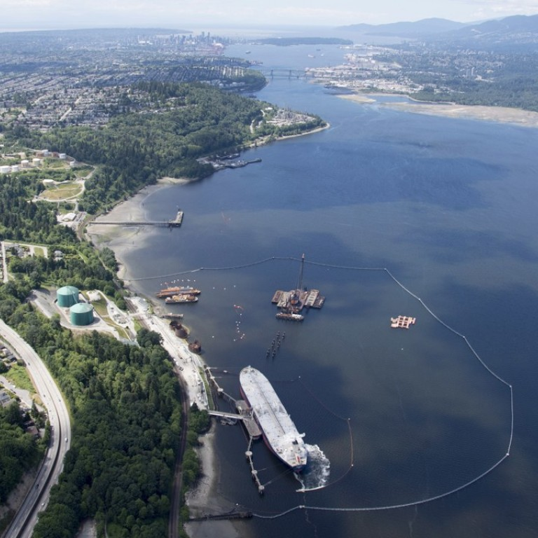 Canadian government to buy troubled Trans Mountain oil pipeline for