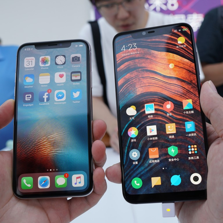 Xiaomi Mi8: the most blatant Apple iPhoneX rip-off yet, and