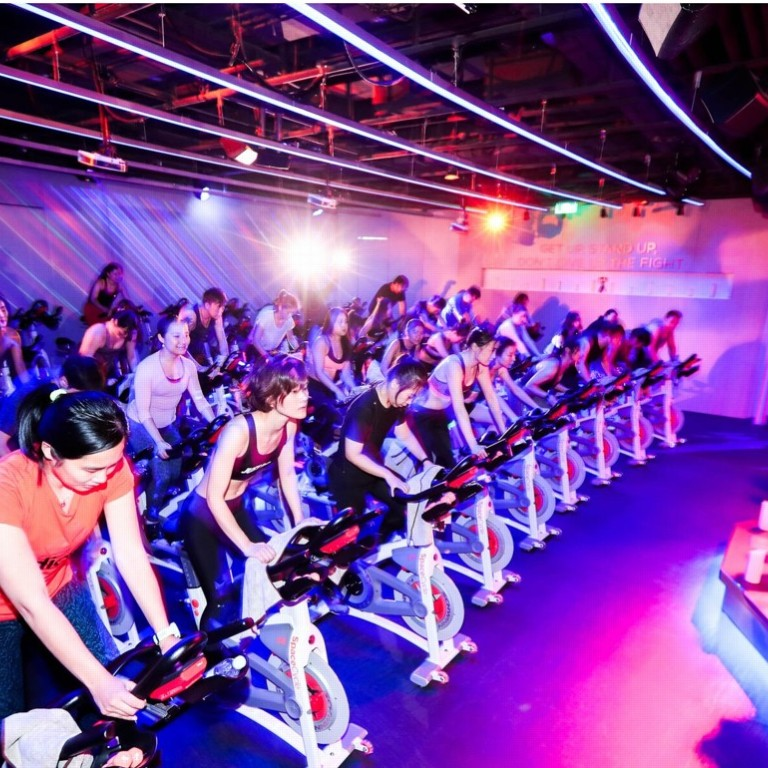 The China fitness club making workouts as exciting as a