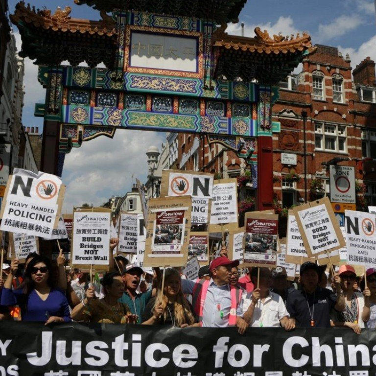 London Marchers Enraged By Immigration 'fishing Raids