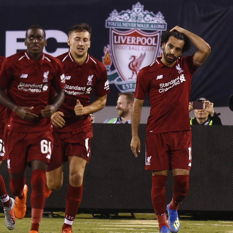 64d0a2495cc Liverpool v Manchester City  Mo Salah s scoring return pleases Jurgen Klopp  after International Champions Cup win