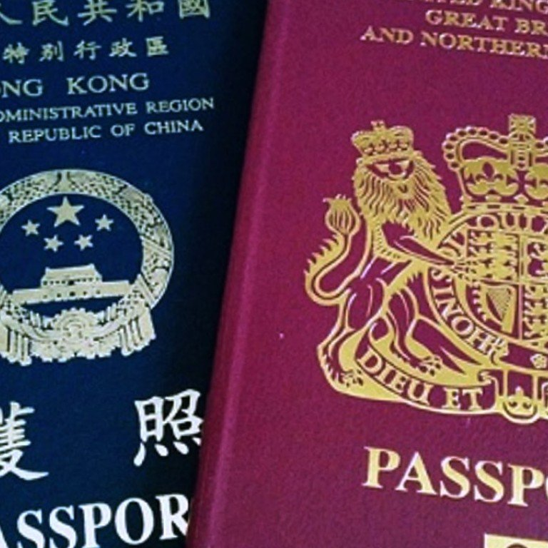 What Is A British National Overseas Passport And What Is A Holder Entitled To South China Morning Post