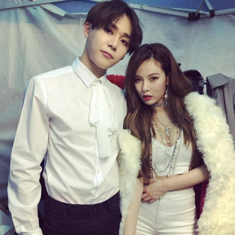 K-pop's HyunA and E'Dawn relationship backlash shows fans