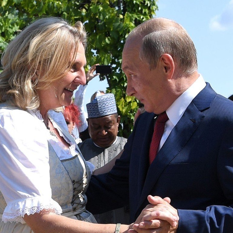 Russia S Vladimir Putin Defends Private Trip To Austrian Foreign Minister S Wedding After Video Of Their Dance Goes Viral South China Morning Post