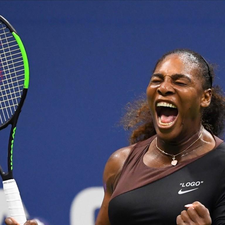 Serena Williams cruises in Virgil Abloh